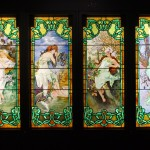The Four Seasons - after Alphonse Mucha
