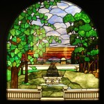 Garden with Fountain - by unidentified designer