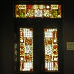 Door Lights and Transom - by unidentified designer