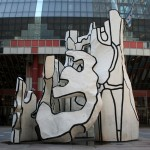 Monument With Standing Beast - by Jean Dubuffet