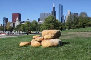 Stones - by Margot McMahon [Oak Park, IL]