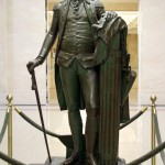 George Washington - by Jean-Antoine Houdon