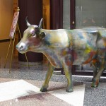 W. la Vaca 1999 #2, by Virginio Ferrari [20 N. Michigan Avenue]