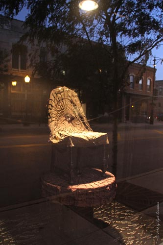 Justice Chair - by Gerda Meyer Bernstein