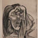 Weeping Woman II [Dora Maar / 1937]  Exhibition: Picasso and Chicago