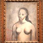 Half-Length Female Nude [Fernande Olivier / 1906]  AIC