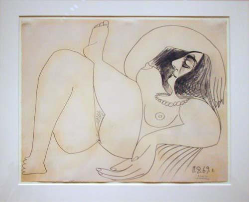 Picasso Jacqueline Roque Nude Jacqueline Roque 1969