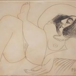 Nude [ Believed to be Jacqueline Roque / 1969]