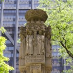 Fountain at Fourth Presbyterian Church