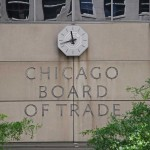 Logo of Chicago Board of Trade..