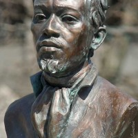 Bust of Jean Baptiste Pointe DuSable – by Erik Blome