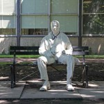 Man on A Bench - by George Segal