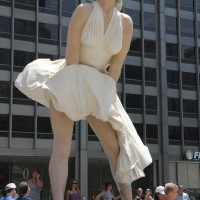 Forever Marilyn - by J. Seward Johnson