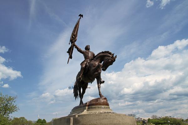 General John Logan Memorial - by Auguste Saint-Gaudens and Alexander Phimste
