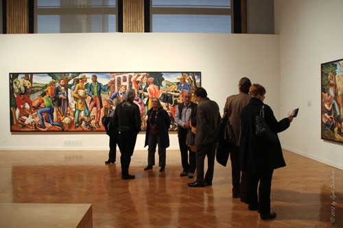 Opening Reception: Hale Woodruff's Murals