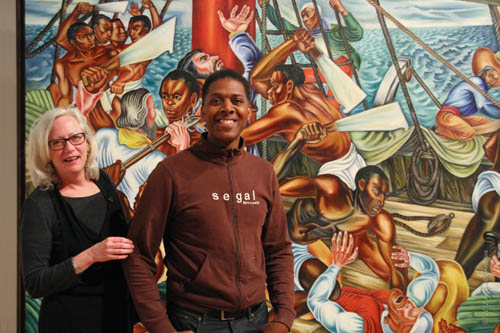 Opening Reception: Hale Woodruff's Murals Debra Purden and Bernard William