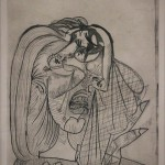 Weeping Woman I [Dora Maar / 1937]  Exhibition: Picasso and Chicago