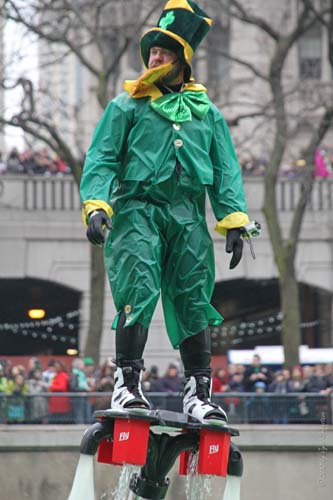 2013 Chicago Saint Patrick's Day