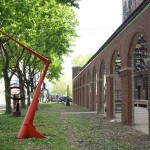 2012: Sculpture Garden [at Bridgeport Art Center]
