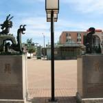 Chinatown Square Zodiacs