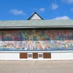 "Mural ""Chinese in America"".."