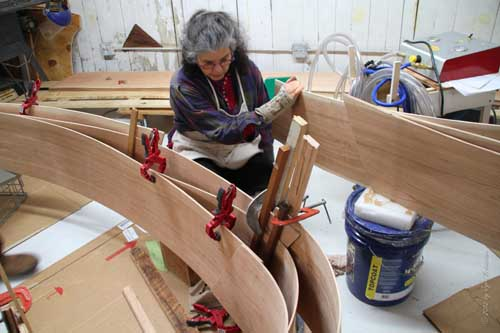 Barbara Cooper's Studio - Work-in-Progress