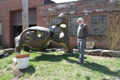 2013 Studio Visit Sculptor Jean Jacques Porret