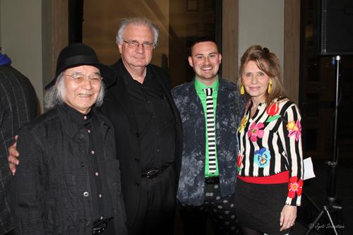 Jun Kaneko, Edward Uhlir, Lucas Cowan and Donna La Pietra