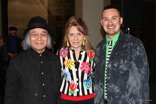 Jun Kaneko, Donna La Pietra and Lucas Lowan
