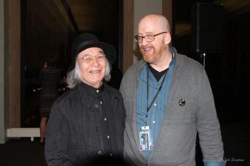Jun Kaneko and Nathan Mason