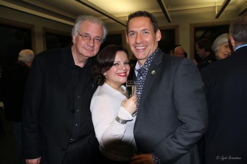 Edward Uhlir, Fabi Ramirez and Matt