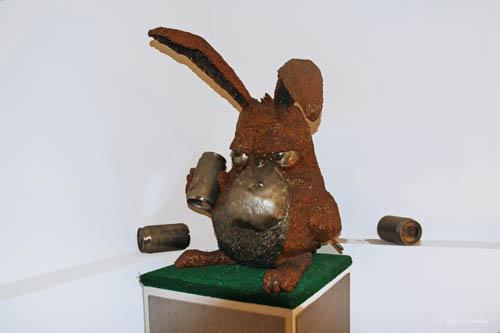 Conejo borracho [drunk rabbit] – by Erik Lowe