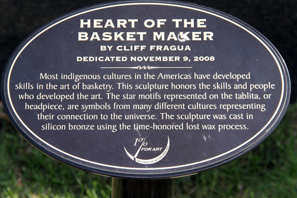 Heart of the Basket maker – by Cliff Fragua
