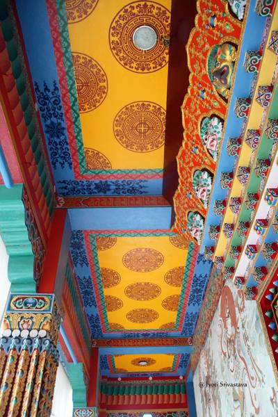 Karma Tibetan Temple / Bodh Gaya, Bihar.