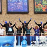 2013: The Blue Man Group  unveils a new Art Gallery