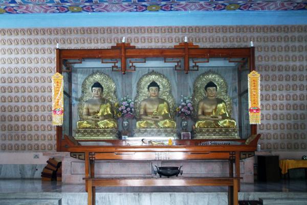 Chinese Temple / Bodh Gaya, Bihar.