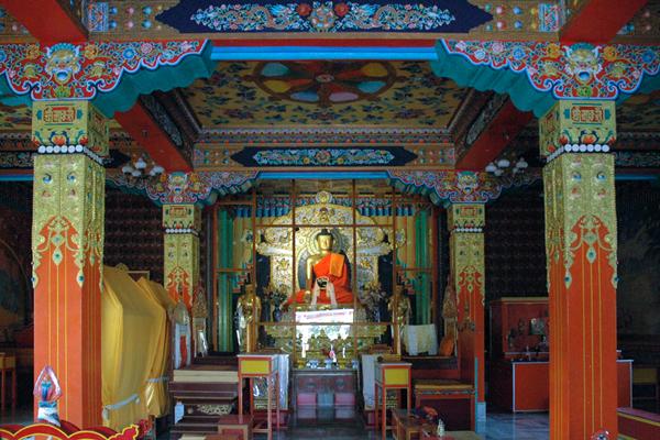 Tibetian temple / Bodh Gaya, Bihar.