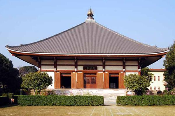 Japanese Temple,/ Bodh Gaya, Bihar.