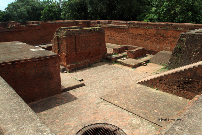 Archaeological Site of Nalanda University /  Nalanda, Bihar.