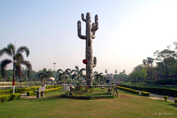 Cactus Smriti - by Subodh Gupta/ Eco Park - Patna/ Bihar.