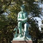 Hans Cristian Andersen Monument - by John Gelert