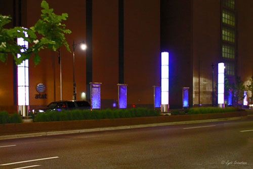 Congress Parkway Streetscape