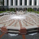 Aon Center Plaza Fountains