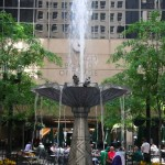 CBOT Plaza Fountain