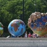 Cool Globes - Grant Park, Chicago