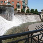 Nicholas J Melas Centennial Plaza and Fountain