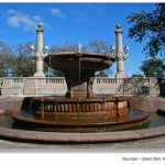 Grant Park Formal Garden Fountain