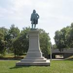 Benjamin Franklin Monument - by Richard Henry Park