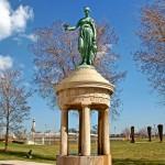 Rosenberg Fountain - by Franz Macht