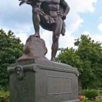 Johann Wolfgang von Gothe Monument - by Herman Hahn